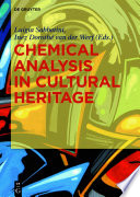 Chemical Analysis in Cultural Heritage Book