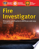 Fire Investigator Book
