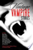 Vintage Vampire Stories Book