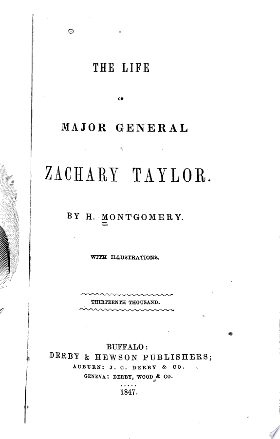 The life of Major General Zachary T