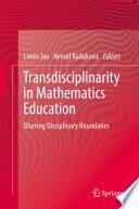 Transdisciplinarity In Mathematics Education Book PDF