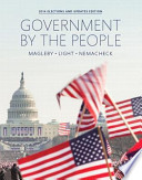 Government by the People 2014