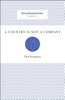 A Country Is Not a Company Pdf/ePub eBook