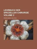 Lehrbuch Der Speciellen Chirurgie