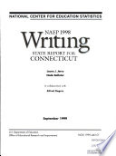 NAEP 1998 Writing State Report for Connecticut