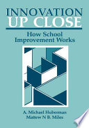 Innovation Up Close How School Improvement Works Book PDF