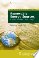 Renewable Energy Sources Book PDF
