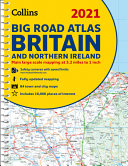Big Road Atlas Britain 2021  A3 Spiral  Collins Road Atlas