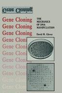 Gene Cloning Book