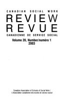 Canadian Social Work Review