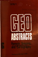 Geo Abstracts