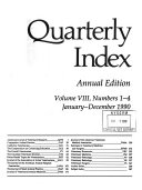 Quarterly Index