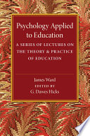 Psychology Applied to Education Book
