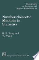 Number-Theoretic Methods in Statistics