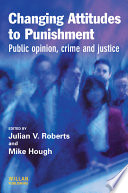 Changing Attitudes To Punishment