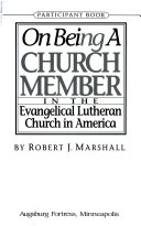 On Being a Church Member in the ELCA