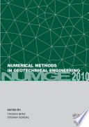 Numerical Methods in Geotechnical Engineering Book