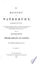 The History of Waterbury  Connecticut