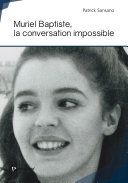 Pdf Muriel Baptiste, la conversation impossible Telecharger