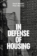 In Defense of Housing