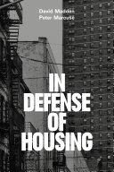 In Defense of Housing Pdf/ePub eBook