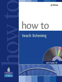 Books - How to Teach Listening Book & CD Pack | ISBN 9781405853101