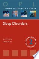 Sleep Disorders  Oxford Psychiatry Library