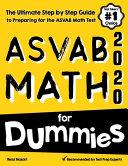 ASVAB Math for Dummies