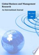 Global Business and Management Research  An International Journal Vol 1  No 1 Book