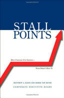 Stall Points Book