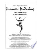 Complete Two-year Catalog of Plays and Musicals