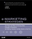 E marketing Strategies Book