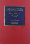 Encyclopedia of Materials Science and Engineering Supplementary