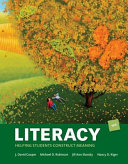 Literacy  Helping Students Construct Meaning