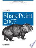 Essential SharePoint 2007 Book