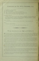 The Christian Quarterly