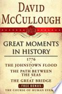 David McCullough Great Moments in History E book Box Set