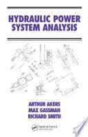 Hydraulic Power System Analysis Book