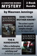 Christine Morris Mysteries 2-Book Bundle: Does Your Mother ...