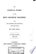 The Poetical Works of the Rev  George Crabbe