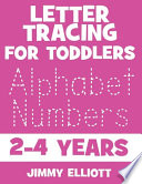 Letter Tracing For Toddlers 2-4 Years