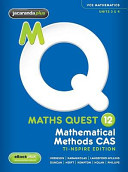 Cover of Maths Quest 12 Mathematical Methods CAS