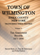 Town of Wilmington, Essex County, New York: Tax assessment ...