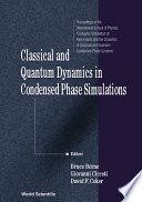 Classical and Quantum Dynamics in Condensed Phase Simulations Book