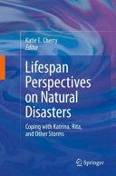 Lifespan Perspectives on Natural Disasters Pdf/ePub eBook