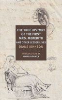 Pdf The True History of the First Mrs. Meredith and Other Lesser Lives