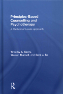Principles Based Counselling and Psychotherapy Book