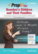 Prepu for Bowden s Children and Their Families