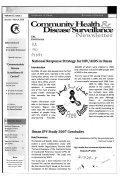 Community Health   Disease Surveillance News Letter
