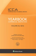 Yearbook Commercial Arbitration  Volume XLI 2016